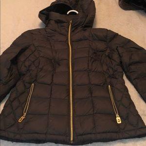 Gray Michael Kors light coat